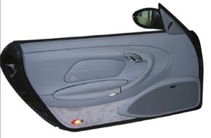 Fig.: mounted doorboard soundsystem